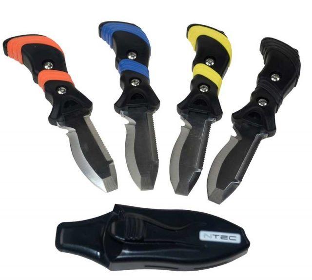 Nůž NTEC malý pro potápění a vodáky