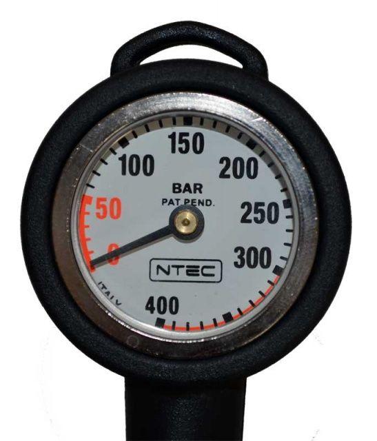 SCUBA NTEC 400bar tlakoměr