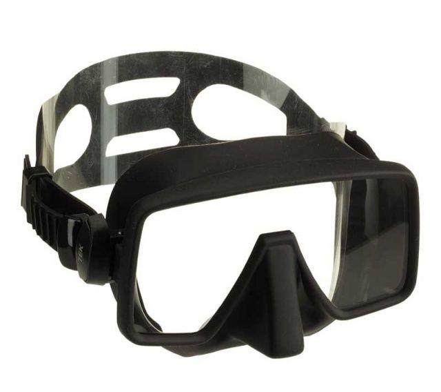 Oblíbená silikonová bezrámečková maska TEK . NTEC