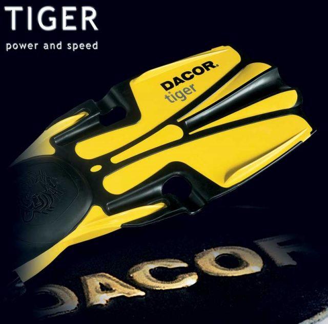 TIGER ploutve s páskem DACOR