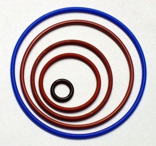 O-kroužek kit 15x tlačítko SLR IKELITE