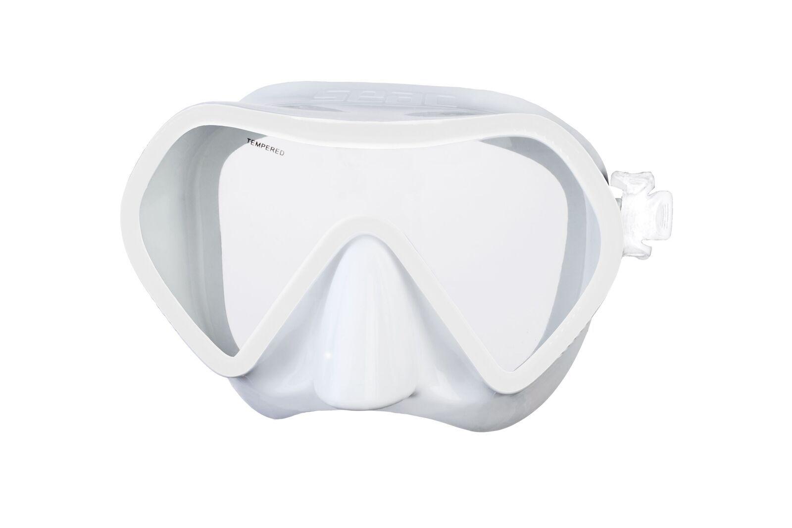 Bezrámová maska ZENIT, antialergení silikon. SEAC SUB