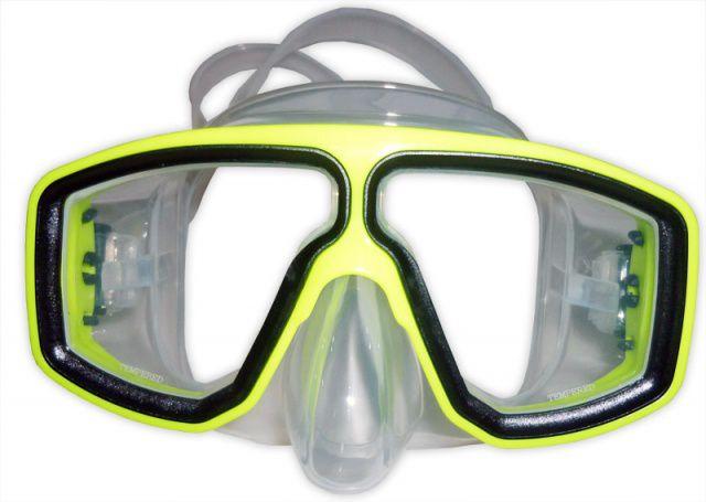BIRD maska silikonová, brýle na potápění NTEC