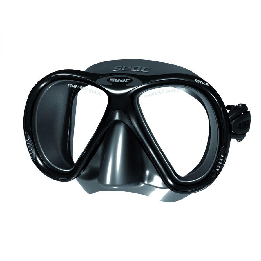 IENA maska silikonová - čer.černá SEAC SUB