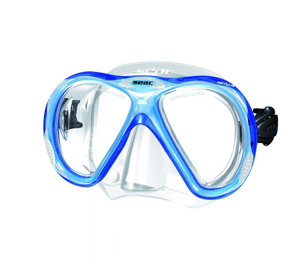 IENA maska silikonová - tr.modrá SEAC SUB