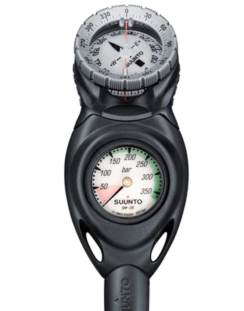 Konzole CB TWO s tlakoměrem 300 bar a kompasem SK-7 suunto