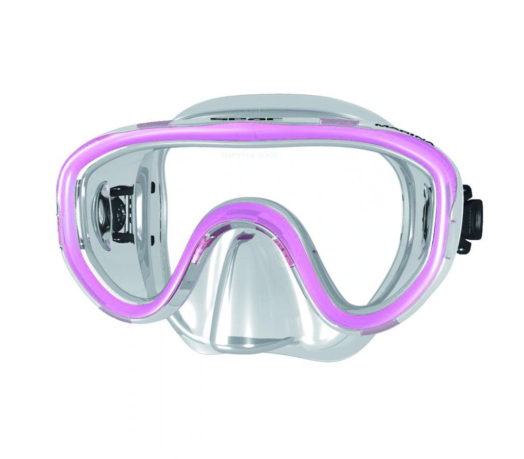 Potápěčské brýle MARINA pro naše nejmenší - tr.ružová SEAC SUB