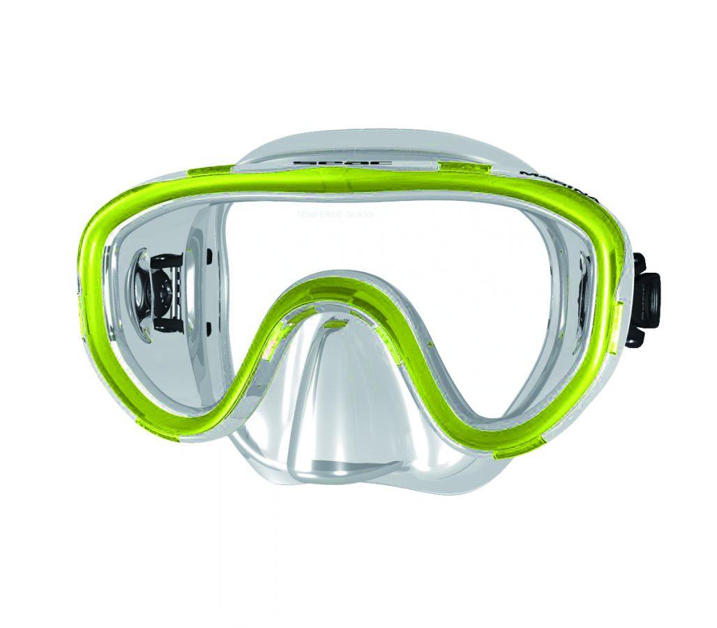 Potápěčské brýle MARINA pro naše nejmenší - tr.žlutá SEAC SUB