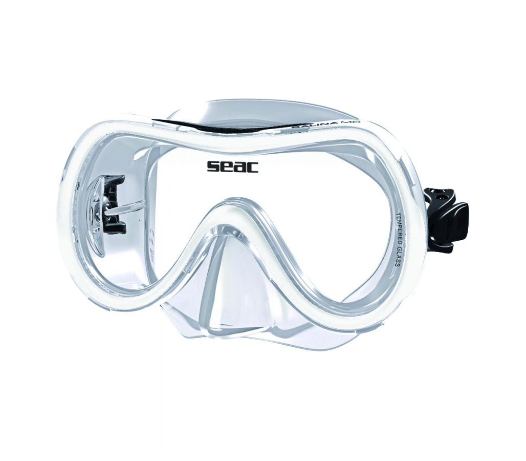 Juniorská maska na potápění SALINA - tr.bílá SEAC SUB