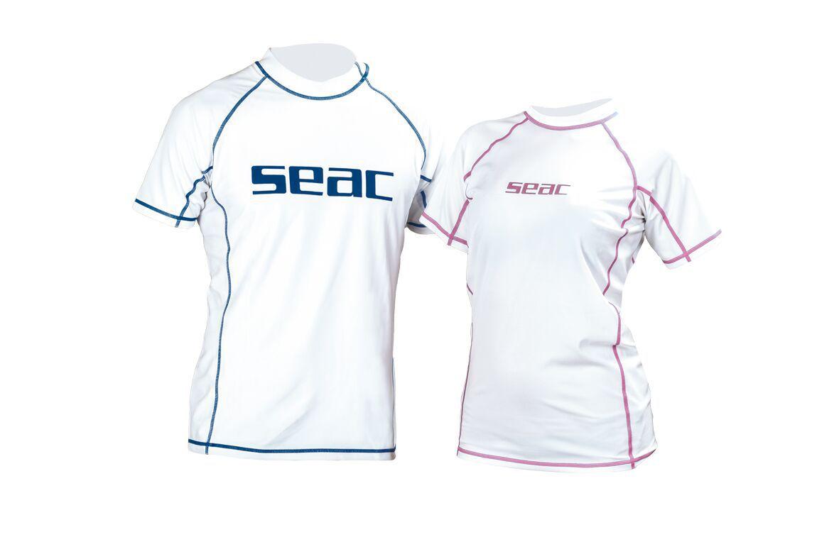 SUNGUARD dámské triko s krátkými rukávy, ochrana před sluncem SEAC SUB